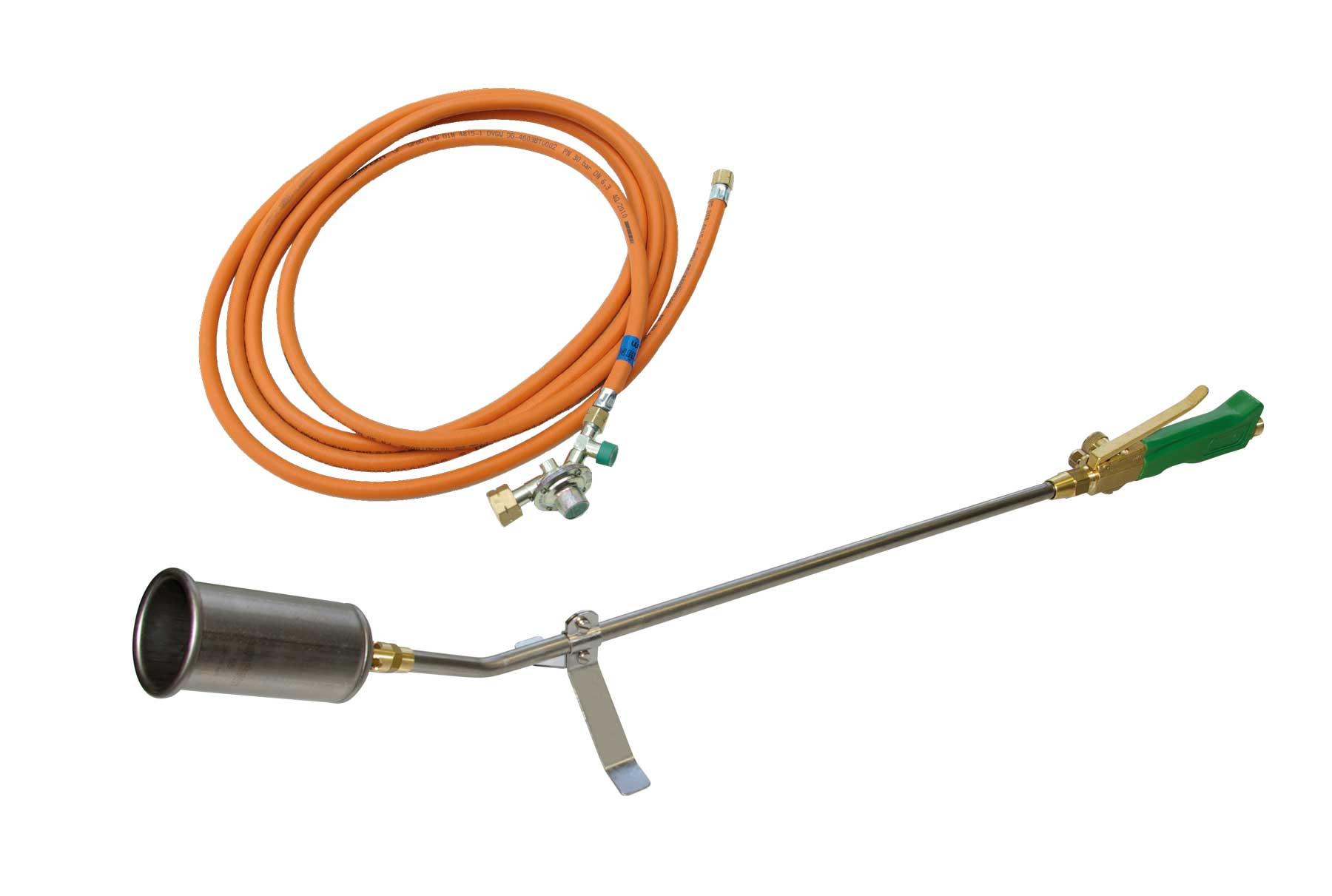 Titan TM 55 Universalbrenner mit 5 m HD-Schlauch / Titanium universal burner TM 55 with 5 m high pressure hose