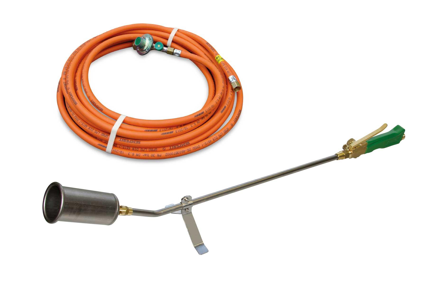 Titan TM 55 Universalbrenner mit 10 m HD-Schlauch / Titanium universal burner TM 55 with 10 m high pressure hose