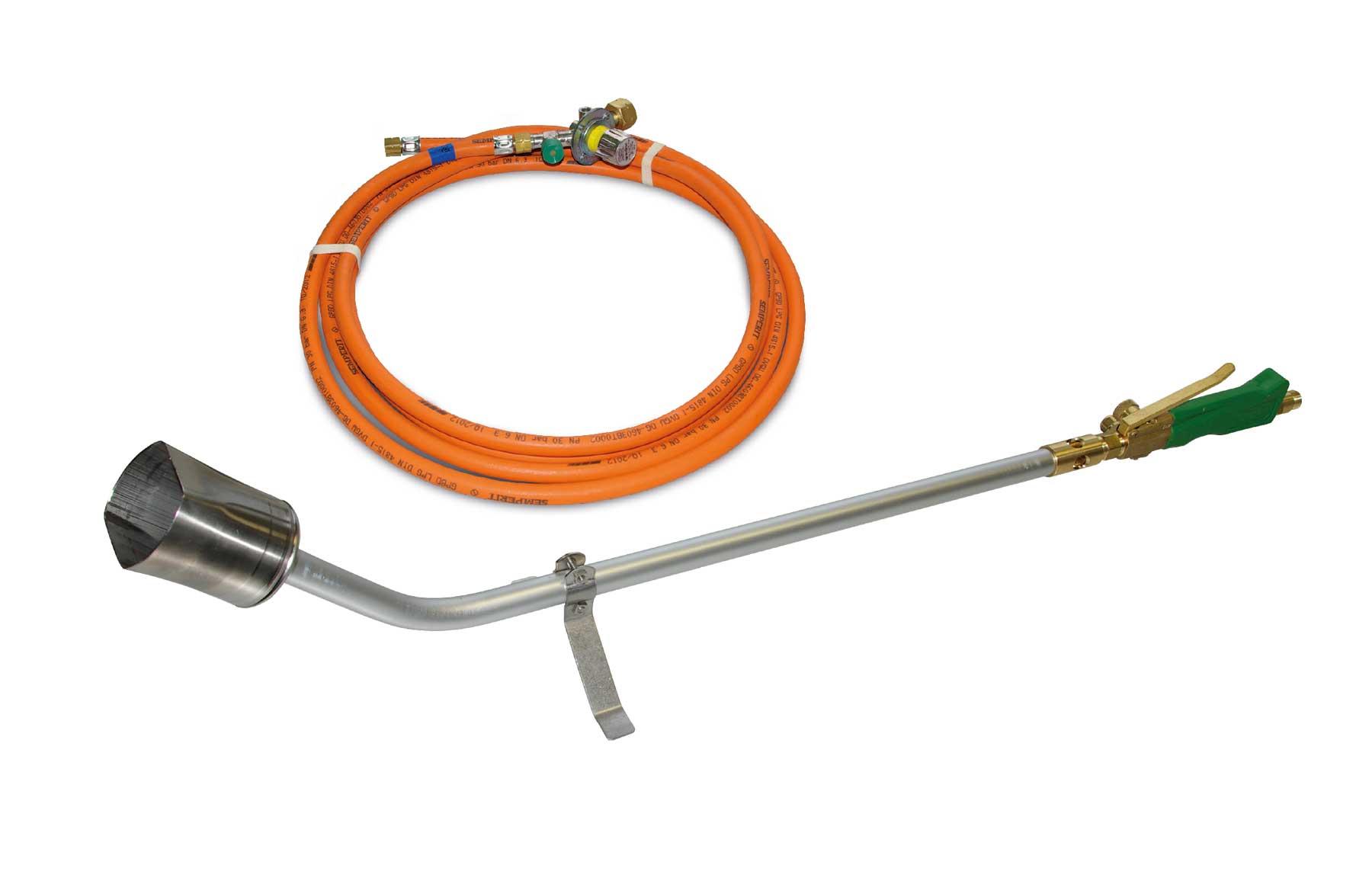 Propan-Leisebrenner LB 120 Set / Propane silent burner LB 120 set