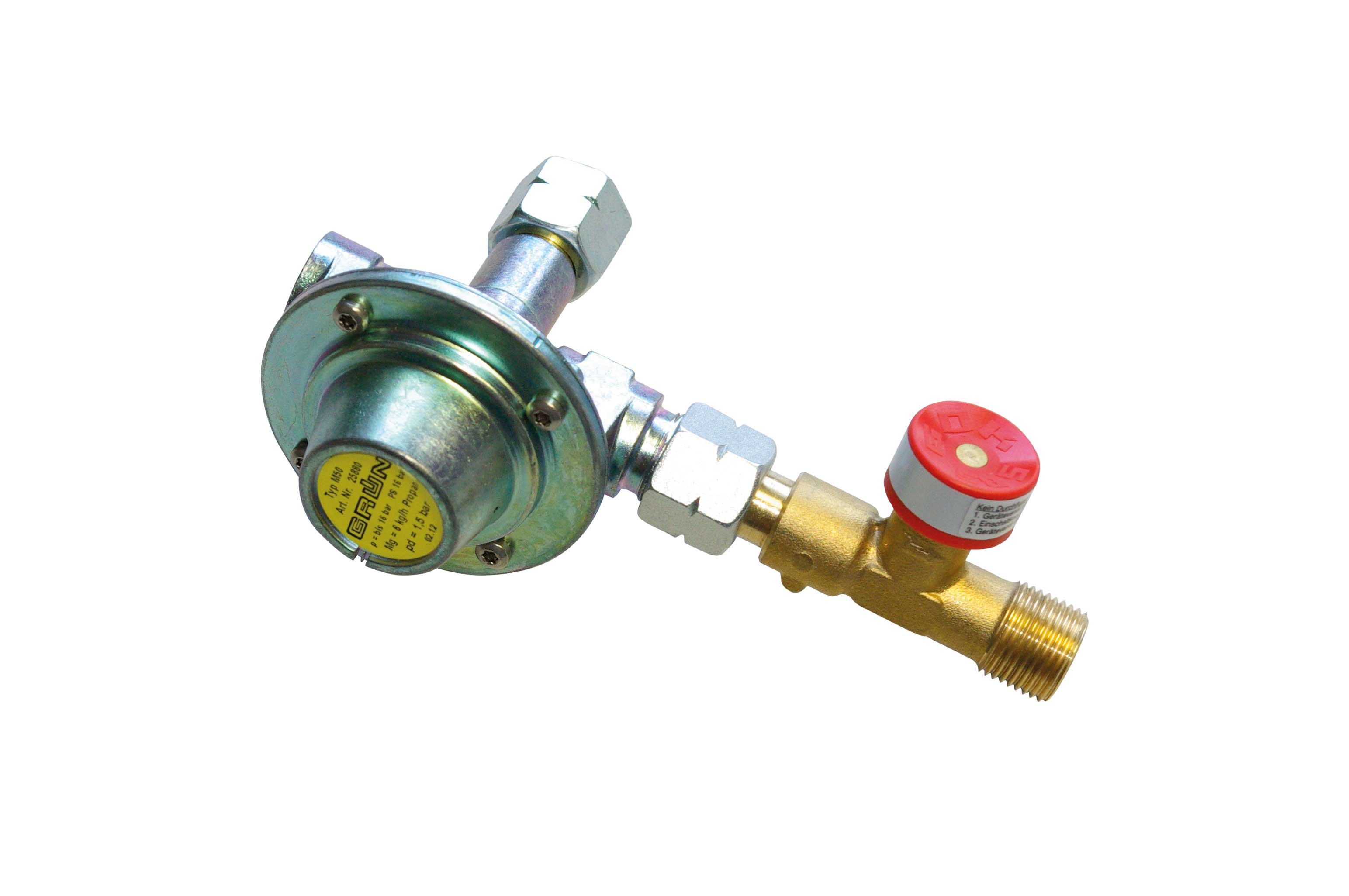 Mitteldruckregler 1,5 bar / Medium pressure regulator 1,5 bar