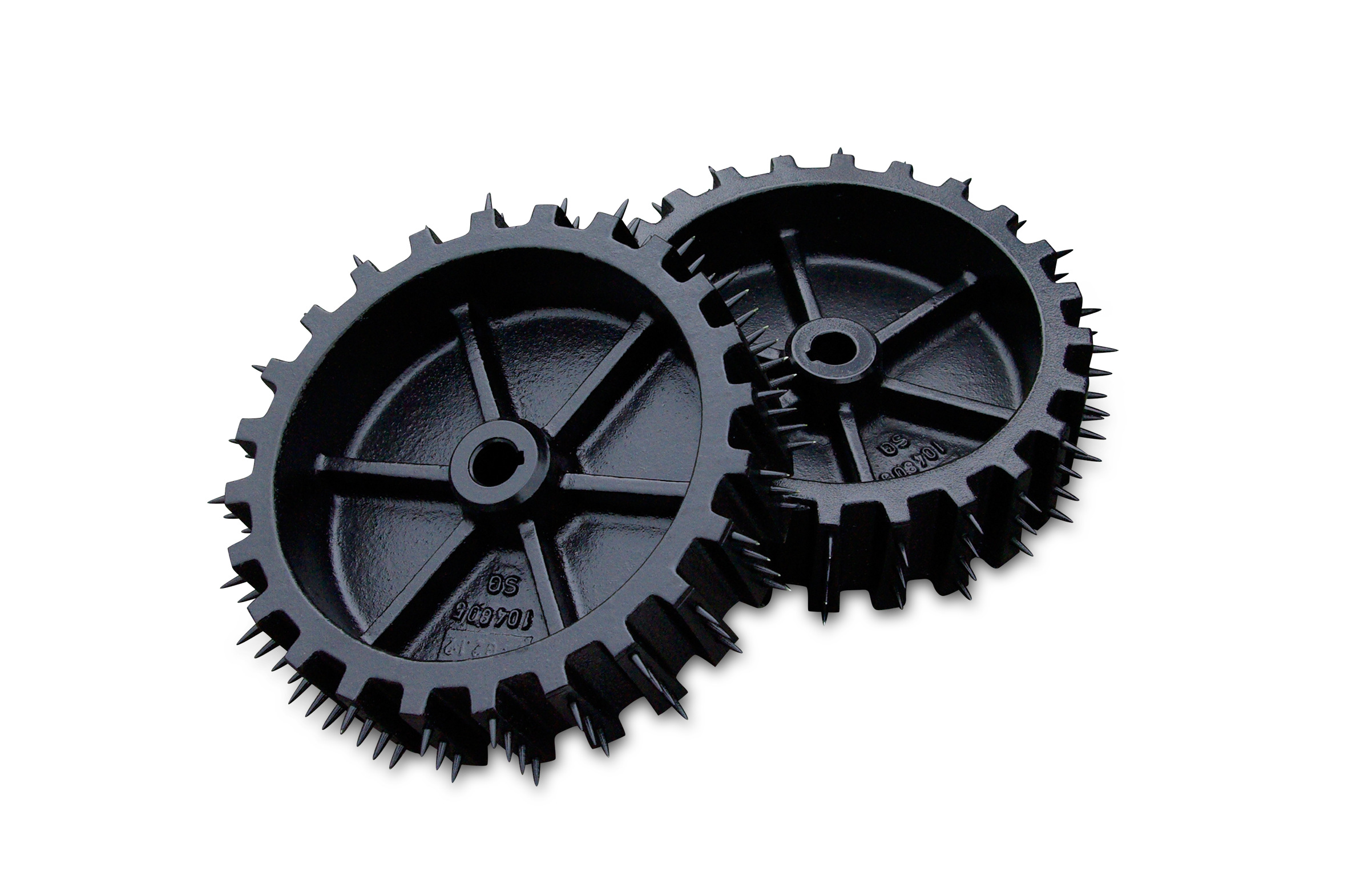 Satz Spikes-Antriebsräder / Set of spike driving wheels