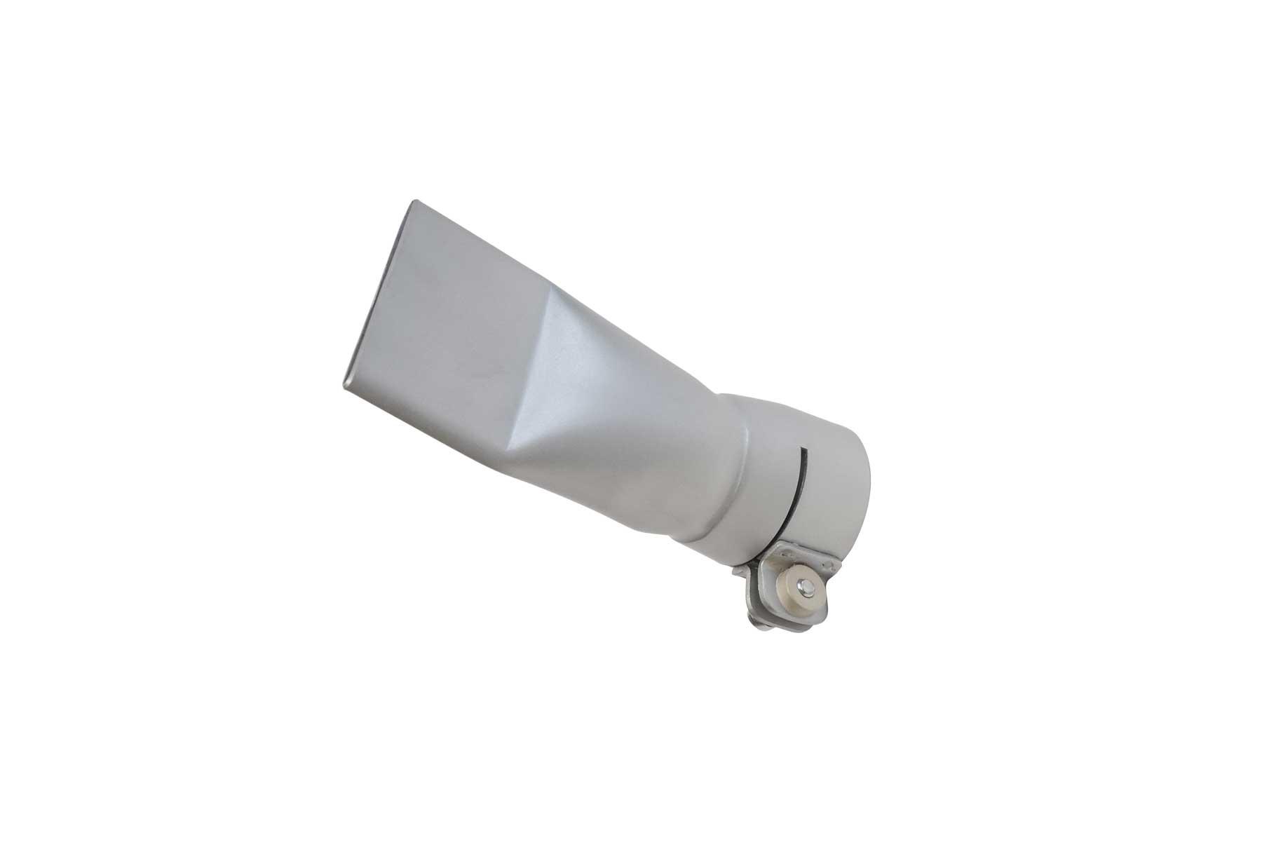 Edelstahldüse, abgewinkelt 40 mm / Stainless steel nozzle, bended 40 mm