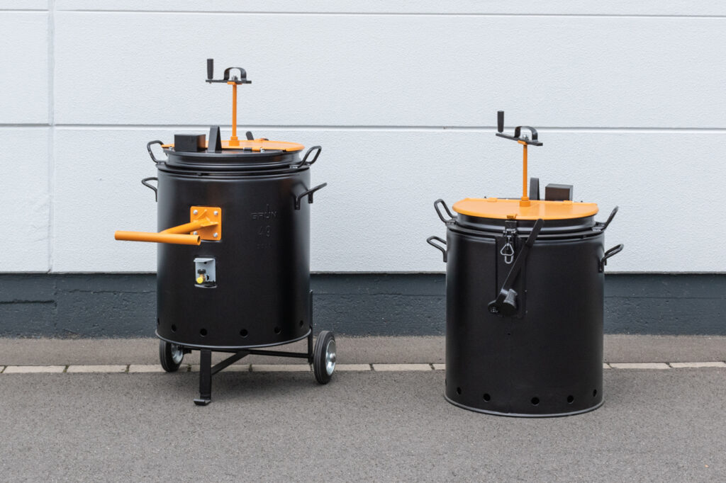 Vergussmasse-Kocher VK 50 HR / VK 50 HR sealing compound boiler